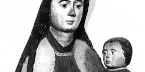 Jomfru Maria og barnet